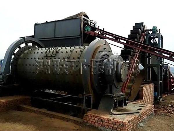 球磨机制沙生产线